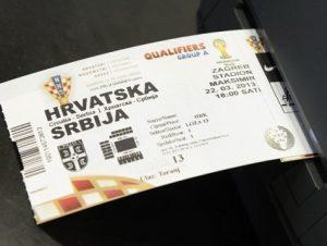 Хорватия - Сербия. ЧМ-2014 - Европа. 5-й тур