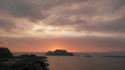 Закат с горы Аксла